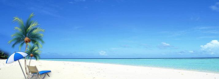 彩色創意海邊度假背景 彩色 創意 海邊 度假 紋理 自然 椰子樹 植物, 彩色創意海邊度假背景, 彩色, 創意 背景圖片