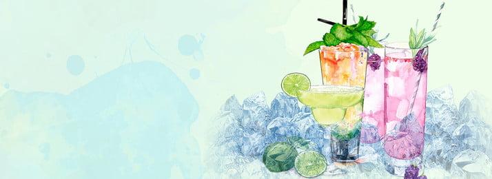 Bunter Tintensommer Getränkhintergrund Farbe Tinte Creative Künstlerische Konzeption Tinte Getränke Trinken Stroh Art Konzeption Tinte Getränke Hintergrundbild