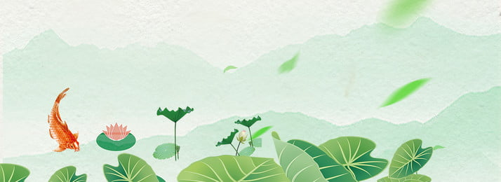 color texture summer cool, Small Fish, Lotus Leaf, Leaf Background image