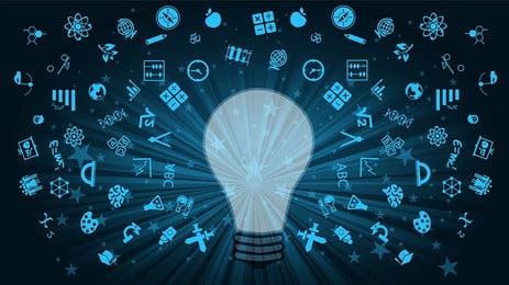 知識移転教育 クリエイティブ合成 知識 教育 本 トレーニング 機関 電球 単純な 学び アイデア, 知識移転教育, クリエイティブ合成, 知識 背景画像