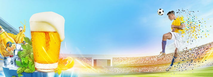 fresh blue world cup beer, Athlete, Blue Sky Background, Blue Sky Background image