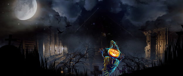 halloween ghost festival pumpkin evil, Poster, Dark Night, Spirit House Background image