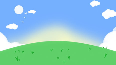 cartoon cute late grass on background illustration cartoon hand painted fresh background background image for free download cartoon cute late grass on background