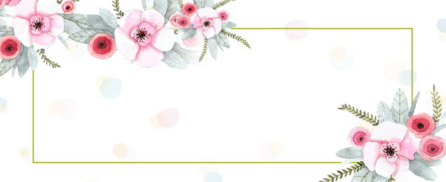Hand Painted Flower Love Qixi Group Purchase Marry, Wedding Poster, Light Background, Hand Painted Flower, Background image