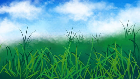 Cartoon Grassland Backgrounds Images Psd And Vectors Graphic Resources Free Download On Pngtree