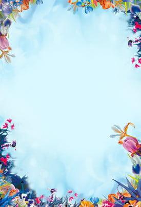 hd petal blue shading nền minh họa hd cánh hoa màu xanh bóng hình , Xanh, Bóng, Hình Ảnh nền