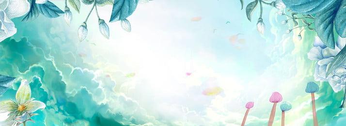 fond dété littéraire fashion light littéraire style dété couleur claire fleurs, Dété, Couleur, à Image d'arrière-plan