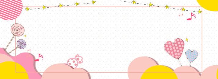 bonito dos desenhos animados mãe e bebê fundo mãe e bebê bonito caricatura banner rodada plano, De, Mãe, Bonito Dos Desenhos Animados Mãe E Bebê Fundo Imagem de fundo