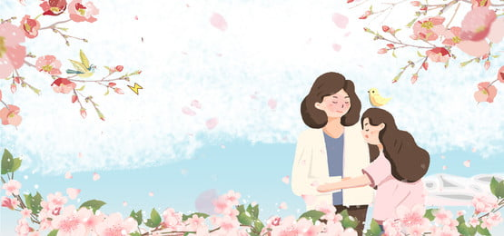 母親節快樂漂浮花瓣藍天白雲廣告背景 母親節 快樂 漂浮 花瓣 藍天 白雲 廣告 背景 清新 母親節 快樂 漂浮背景圖庫