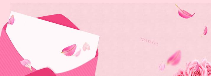 ピンクの創造的な愛の背景 ピンク クリエイティブ 紙 花 テクスチャ 愛してる 花 落下 封筒 ピンク クリエイティブ 紙 背景画像