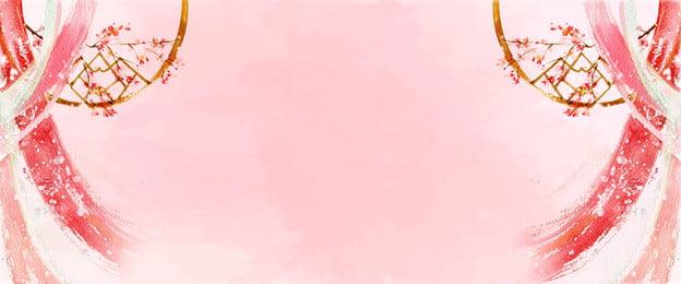 Estilo chinês de flores cor de rosa em camadas fundo Pink Flor Pétala Tecnologia Estilo chinês Camadas Plano de De Chinês Camadas Imagem Do Plano De Fundo