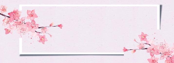 ピンクの植物の花の装飾の背景 ピンク 植物 ナチュラル 花 開花 ナチュラル クリエイティブ 国境 花びら ピンク 植物 ナチュラル 背景画像