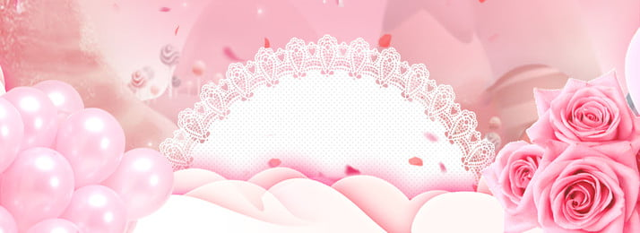 pink romantic fresh express day, Rose, Balloon, Pink Background Background image