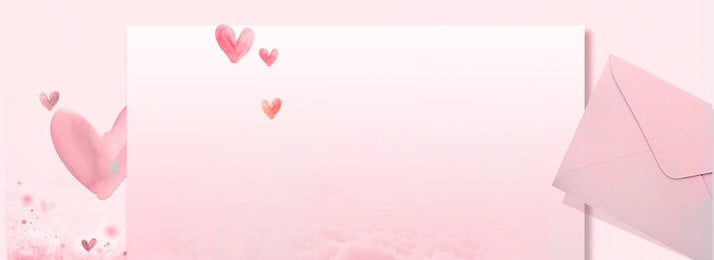 Banner romântico rosa dos namorados Pink Romântico Dia dos namorados Banner Banner Romântico Dia Banner Imagem Do Plano De Fundo