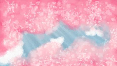 ピンクのミニマルなイラストポスター ピンク 10代の心 文学 単純な 羽毛 クリエイティブ デザイン イラスト ポスター バックグラウンド 背景テンプレート ピンク 10代の心 文学 背景画像