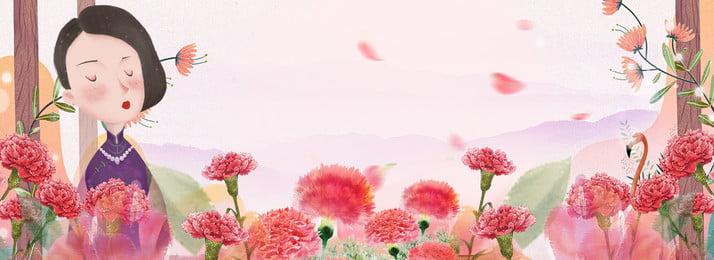 Floral Background Flower背景圖庫