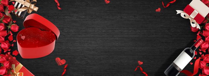 لافتة ملصق عيد الحب الرومانسي رومانسي حب روز تاناباتا عيد الحب الملصق إعلان راية خلفية, الحب, الملصق, إعلان صور الخلفية