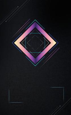 Simples atmosfera moda linha preto PSD em camadas publicidade fundo Simples Atmosfera Moda Line Fundo preto Material de Negócios Gráficos Simples Imagem Do Plano De Fundo