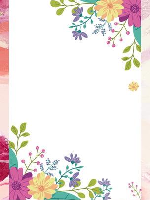 봄 꽃 광고 배경 봄 꽃 핑크 음영 새로운 의류 봄 , 음영, 새로운, 투어 배경 이미지