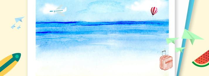 Kỳ nghỉ hè poster tươi banner Kỳ nghỉ hè Mùa Kỳ Hè Mùa Hình Nền