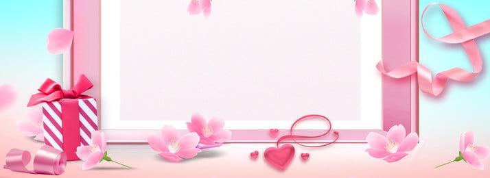वेलेंटाइन डे स्वीट पिंक पोस्टर वेलेंटाइन का दिन मीठा, पंखुड़ियाँ, गुलाबी, वेलेंटाइन पृष्ठभूमि छवि
