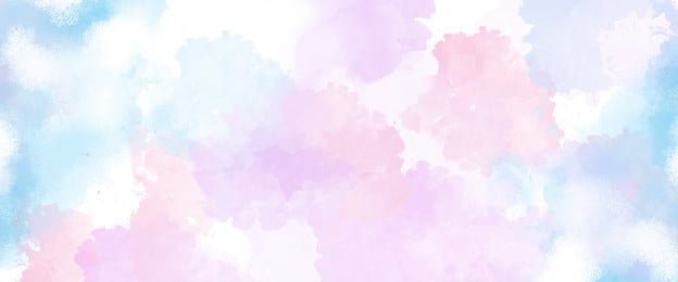 Watercolor Dream Beautiful Fresh, Texture, Simple, Artistic Conception, Background image