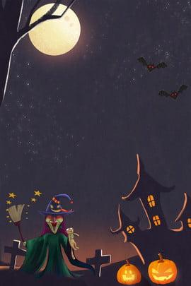 1031 poster halloween pháo đài ma bí ngô 10 31 halloween halloween vui vẻ lễ , Ma, Thuật, Hội Ảnh nền