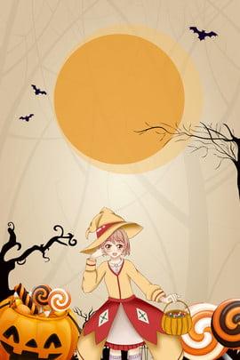 10 31 halloween pumpkin candy little witch poster 10 31 halloween halloween vui vẻ lễ , Thống, 10, 31 Ảnh nền