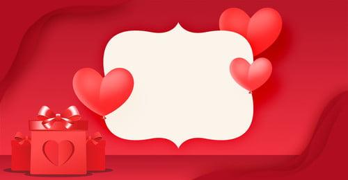 Red Romance 214 Valentine Day Gift Box Love Poster 2 14 214 Ngày lễ tình 2 14 214 Hình Nền