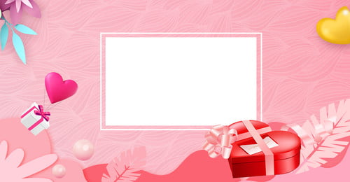 214 Valentines Day Love Gift Box Cartaz romântico rosa 214 214 Dia dos namorados Pink Romântico Amo Dos Namorados Pink Imagem Do Plano De Fundo
