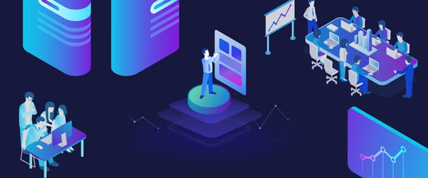Poster quảng cáo blockchain văn phòng kinh doanh 25D 25D Kinh doanh Văn phòng Cảnh Blockchain Làm Phòng Cảnh Blockchain Hình Nền