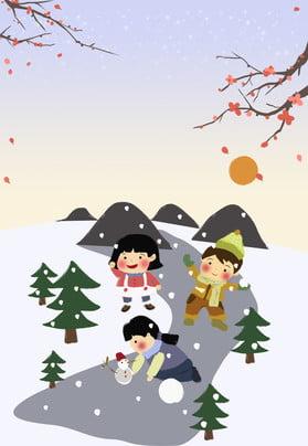 24 thuật ngữ năng lượng mặt trời tuyết vẽ tay trẻ em sáng tạo snowball poster nền 24 thuật ngữ , Mận, Áp, đấu Ảnh nền