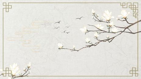 cartaz de fundo floral antigo estilo tradicional mão desenhada publicidade poster mão desenhada flor estilo antigo tradicional simples pintura, Publicidade, Poster, Mão Imagem de fundo