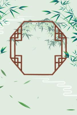 古風漂浮竹葉廣告背景 古風 漂浮 竹葉 廣告 背景 古風 漂浮 竹葉 廣告 背景 , 古風, 漂浮, 竹葉 背景圖片