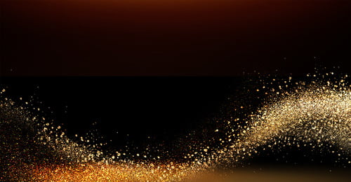 Atmosphere Gold Powder Background Black Gold Golden Particle, Business, Annual Meeting, Atmospheric Gold Powder, Background image
