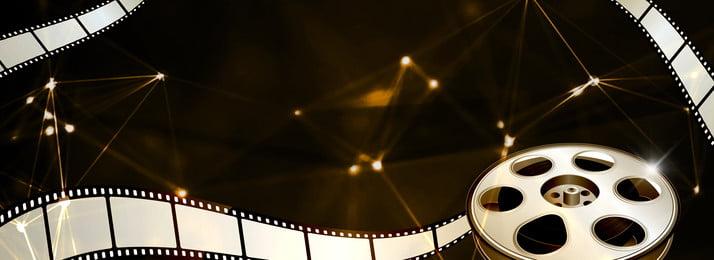 liên hoan phim quốc tế khí quyển áp phích banner nền tải về khí quyển hiệu ứng, Phích, Bối, đen Ảnh nền