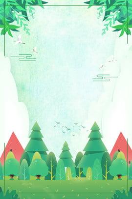 poster chủ đề xanh tươi tháng 8 tháng 8 xin chào tươi Đơn , Giản, Biên, 8 Ảnh nền