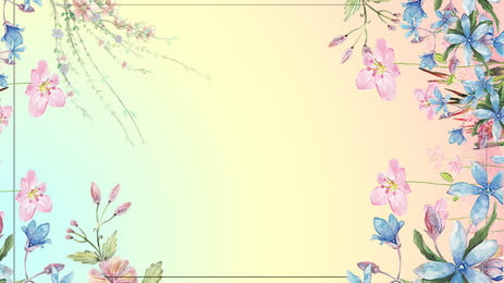 Background Poster Beautiful Fresh, Ad, Poster, Flower Bottom, Background image