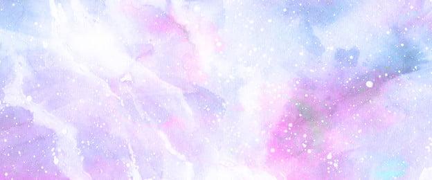 Đẹp mơ mộng màu tím đầy sao màu nước lãng mạn Đẹp giấc mơ bầu trời, Nước, Khí, Giản Ảnh nền