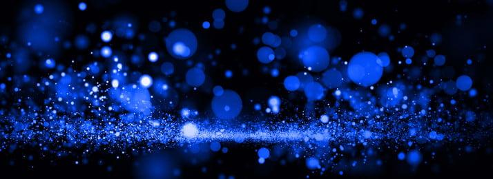 beautiful light effect business blue flashing, Halo Background, Ppt Background, Fine Flash Background image