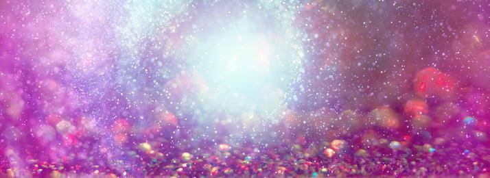 beautiful light effect pink halo, Fine Flash, Light, Gold Powder Background image