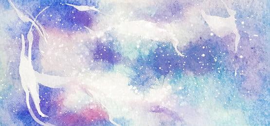 唯美紫色星空漸變banner海報 唯美 紫色 夢幻 時尚 創意 星空 漸變 絢麗 banner 海報 背景, 唯美, 紫色, 夢幻 背景圖庫