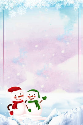 beautiful winter snow scene snow winter , Snowing, Snowflake, Snowman Background image