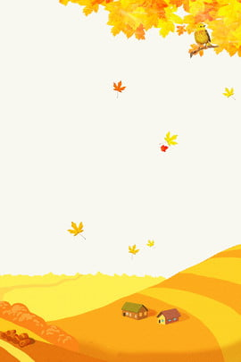 beginning of autumn golden autumn harvest fall , Autumn, Maple Leaf, Fallen Leaves Background image