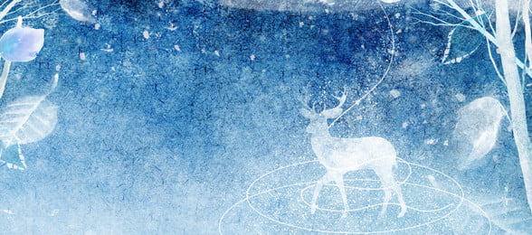 winter winter nghệ thuật màu nước màu xanh banner nền lý Đông mùa đông văn, Lý, Nước, Ngữ Ảnh nền