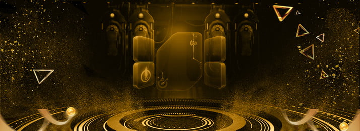 Black Friday Black Gold Stage Golden Particle, Poster, Black Friday, Black Gold, Background image