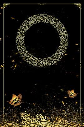 블랙 골드 비즈니스 회의 배경 블랙 골드 블랙 금 사업 회의 배경 고급 , 스타일의, 골드, 블랙 배경 이미지