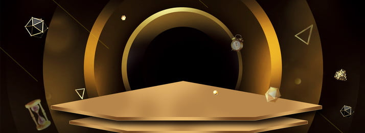 काले सोने के रंग मिलान बैनर ज्यामितीय तत्वों पोस्टर काले सोने का, का, रंग, अखाड़ा पृष्ठभूमि छवि