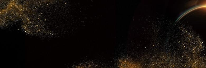 Black Shading Cool Sheet Metal, Sands, Black Gold, Simple, Background image