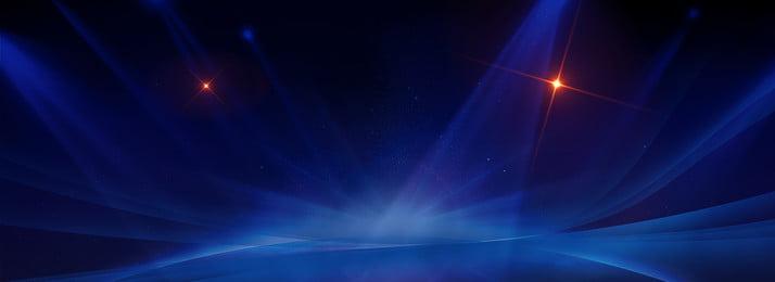 Blue Creative Ray Flash, Ray, Technology, Creative, Background image
